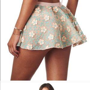 NWT Montce pastel swim skirt